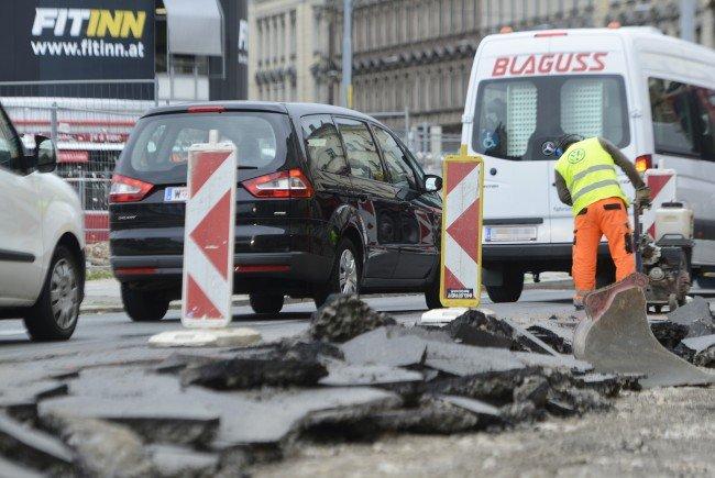 Wegen diverser Bauarbeiten kommt es ab nächster Woche zu Verkehrsbehinderungen.