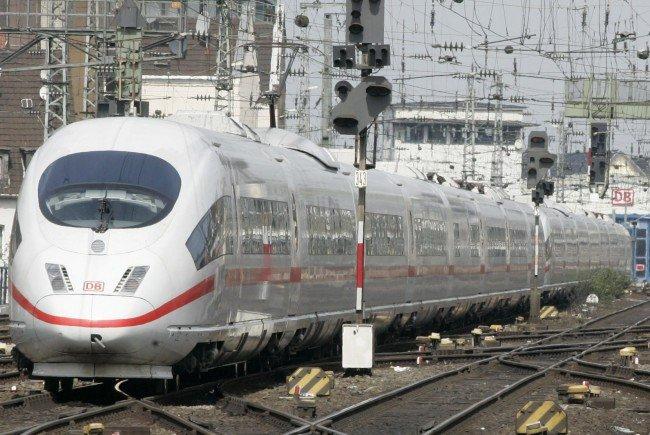 In den ICE-Zügen der Deutschen Bahn