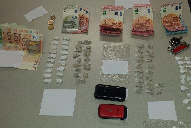Zwei mutmaßliche Drogendealer wurden festgenommen