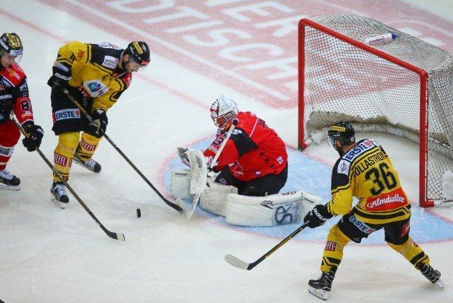 Die Vienna Capitals konnten sich gegen Znojmo durchsetzen.