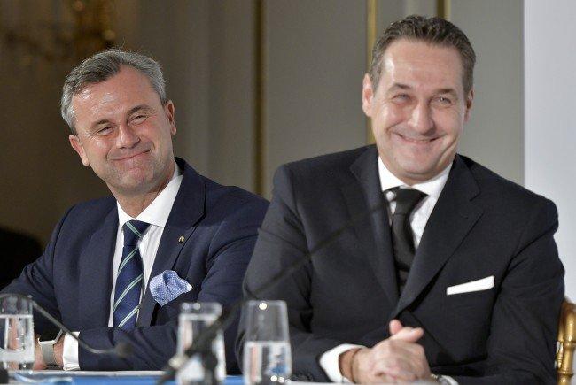 Der Antrag auf Immunitätsaufhebung von Strache und Hofer wurde zurückgezogen.