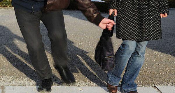 Ein Zeuge verfolgte und stellte den Handtaschendieb.