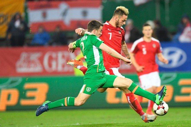 Österreich verliert gegen Irland mit 0:1