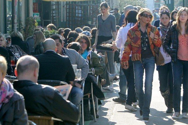Die Zahl der Genehmigungen hinsichtlich der neuen Winter-Schanigärten hält sich derzeit noch in Grenzen
