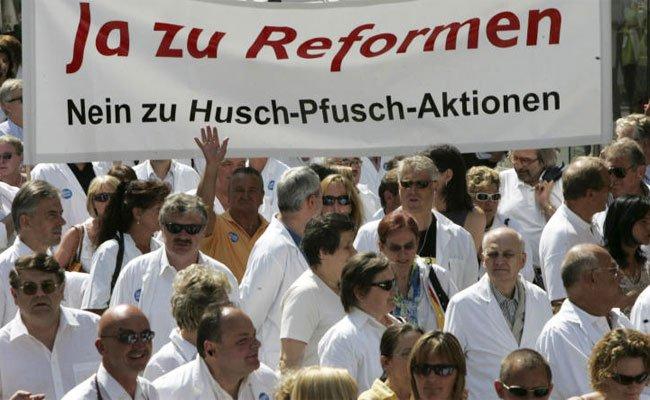 Die Ärztekammer bereitet den Protest schon vor.