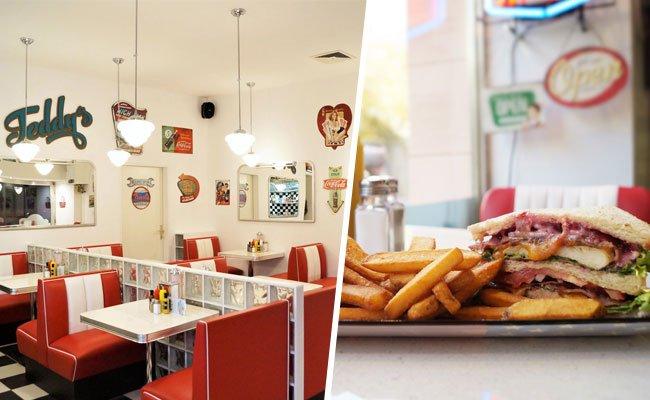 Im neuen American Diner kommen Fans der amerikanischen Küche auf ihre Kosten.