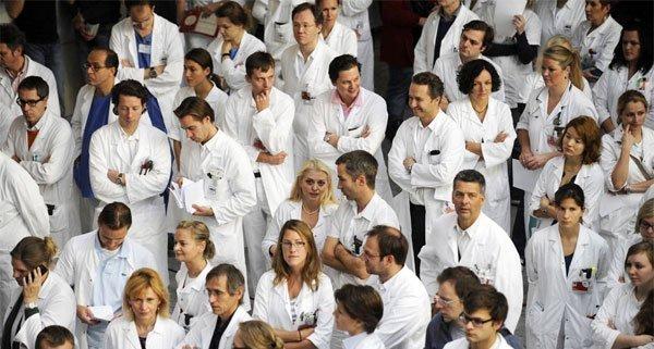 """Die Wiener Ärztekammer droht mit einem """"Generalstreik""""."""