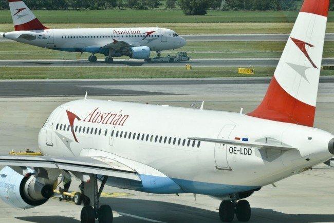Eine AUA-Maschine kehrte wegen medizinischem Notfall nach Wien zurück