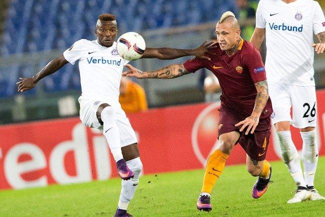 Das Heimspiel gegen die Roma als nächstes Highlight für die Wiener Austria.