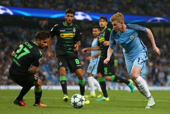 Gegen Manchester City erwartet Borussia Mönchengladbach eine äußerst schwierige Aufgabe.