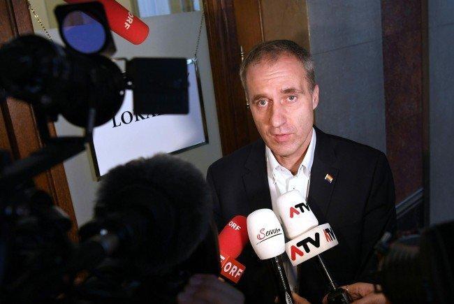 Der Grüne Abgeordnete Dieter Brosz legte bezüglich der Anzeige noch einmal nach