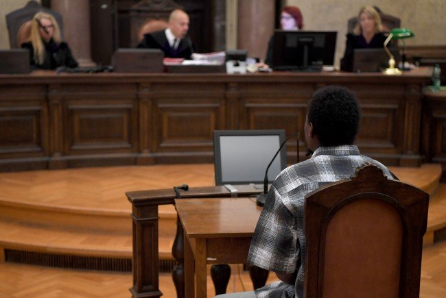 Beim Prozess in Wien