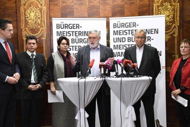 """Initiative """"Bürgermeister für Van der Bellen""""."""