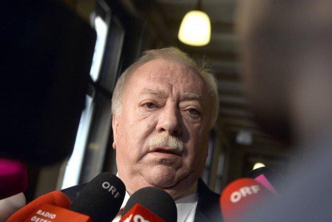Bürgermeister Häupl schloss nach Präsidiumssitzung Personaländerungen nicht dezidiert aus