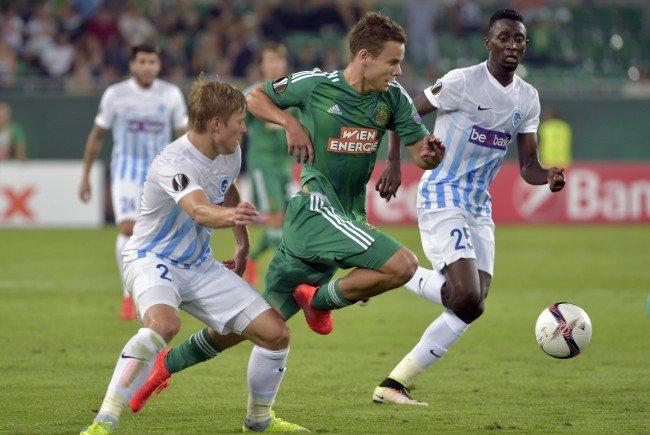 Rapid gastiert in der Europa League auswärts beim KRC Genk.