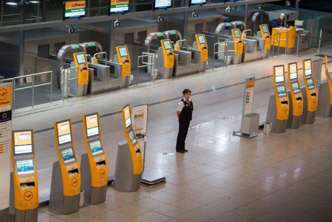 Der Streik bei der Lufthansa geht weiter.