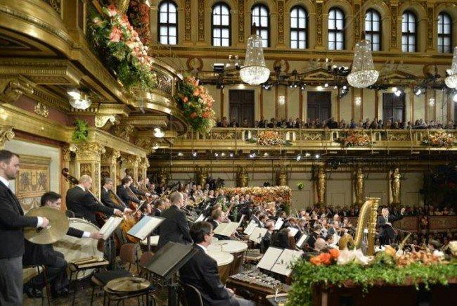 Highlight in der Silvesternacht: Das Wiener Neujahrskonzert.