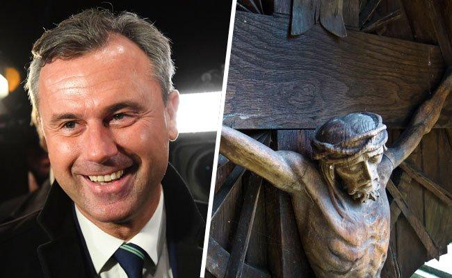 Ein Pfarrer aus NÖ sprach sich im Pfarrblatt klar für BP-Kandidat Norbert Hofer aus.