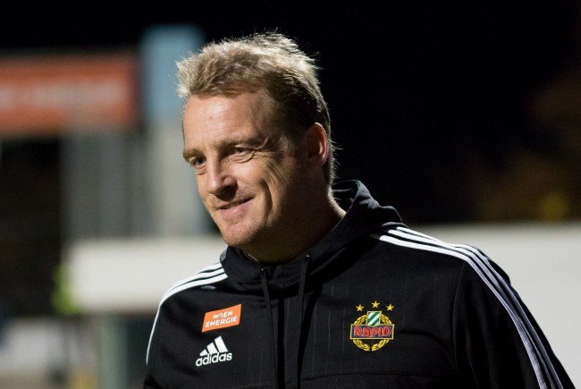 Rapid-Coach Mike Büskens.