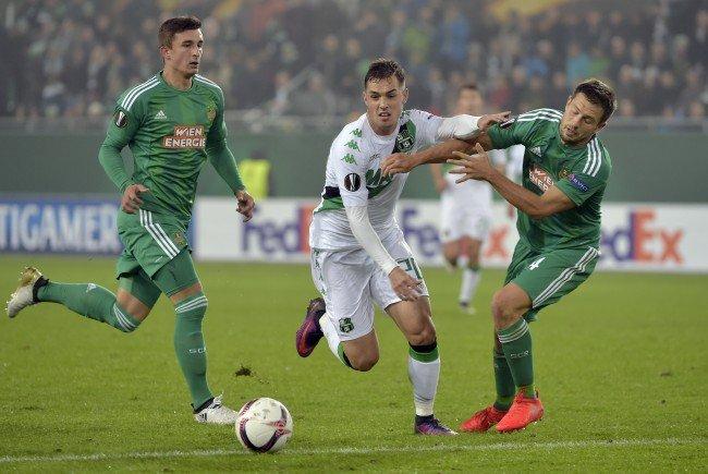 Nach dem 1:1 im Hinspiel in Wien gastiert Rapid am Donnerstag auswärts bei Sassuolo.