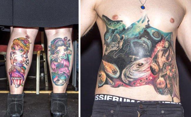 Alles, was bunt und kreativ ist, war bei der Wiener Tattoo Convention zu Gast