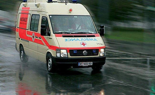 Zwei Unfälle mit Verletzten am Montag in Wien.