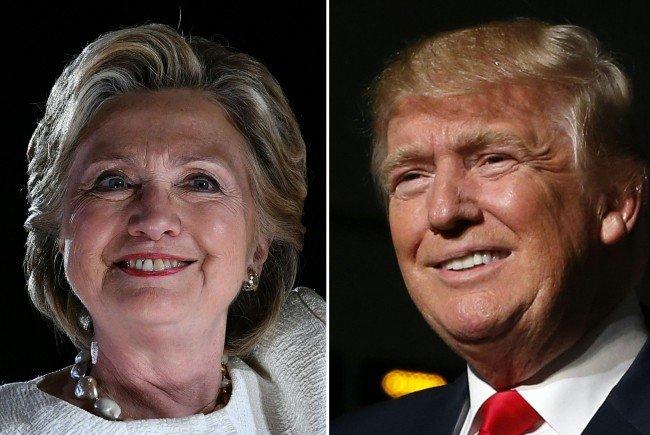 Hilary Clinton oder Donald Trump? Wir berichten live von der US-Präsidentschaftswahl im Ticker.