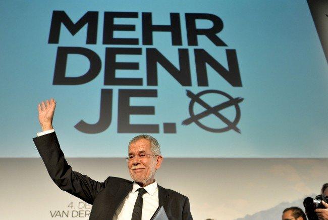 Die Vorarlberger Alt-Landeschefs für Grünen Kandidaten Van der Bellen