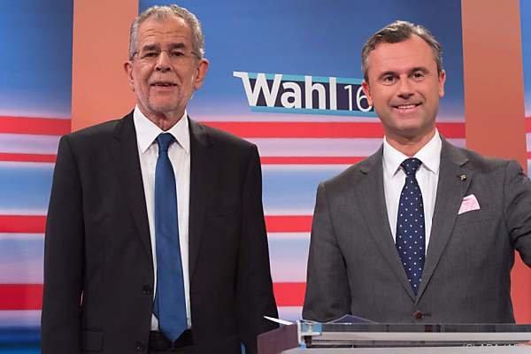 Divergierende Positionen zu außenpolitischen Fragen haben die beiden BP-Kandidaten
