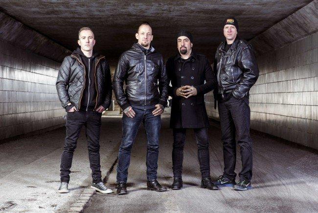 Volbeat geben sich in Wien die Ehre.