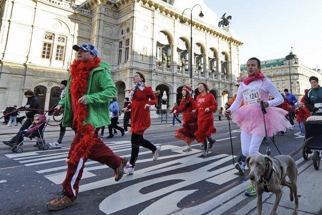 Der Silvesterlauf findet in Wien heuer zum 40. Mal statt.