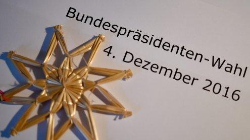 Aktuelle Hochrechnung zur Bundespräsidentenwahl 2016