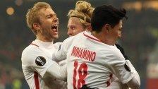 Salzburg beendet EL- Saison mit 2:0-Sieg über