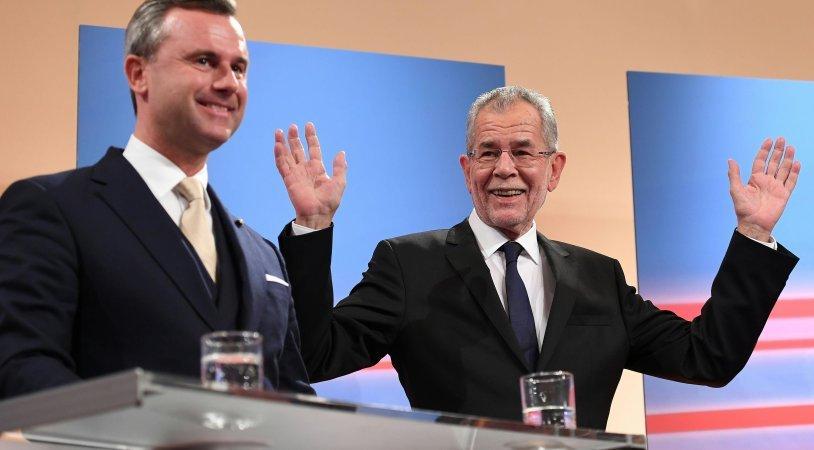 Das vorläufige Ergebnis steht fest: Van der Bellen geht erneut als Sieger hervor