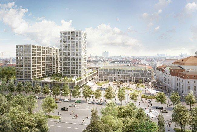 Großbauvorhaben am Wiener Heumarkt-Areal.