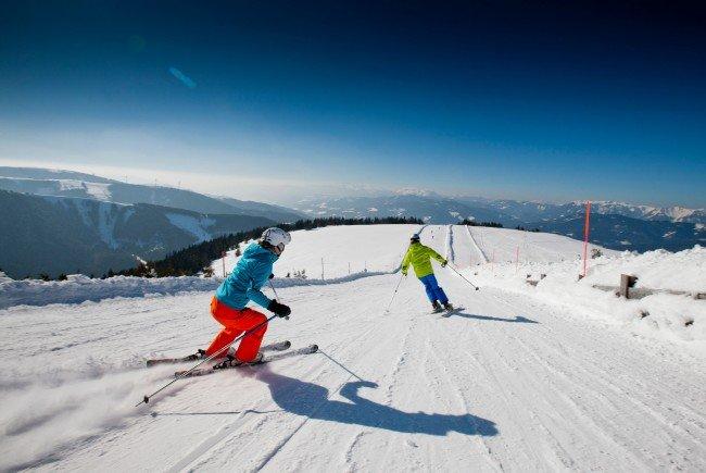 Das Skigebiet Stuhleck wurde offiziell eröffnet.