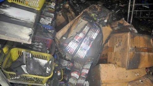 Kellerbrand in Wien-Penzing: 350 kg illegale Pyrotechnik gefunden