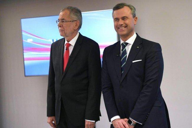 Harte Worte beim ORF-TV-Duell.