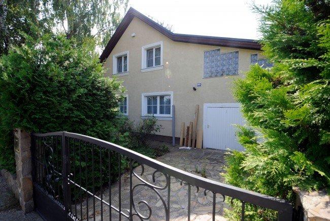Das ehemalige Haus des Kampusch-Entführers Wolfgang Priklopil, in das nun eingebrochen wurde