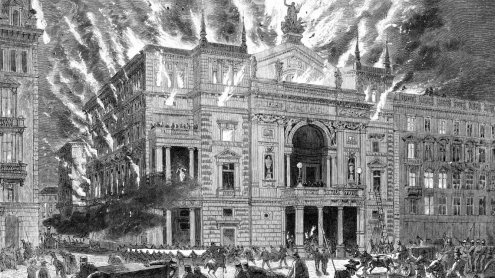 Brand des Wiener Ringtheaters: 400 Tote am 8. Dezember 1881