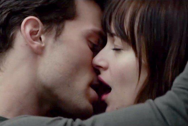 "Eine Szene aus ""Fifty Shades of Grey""."