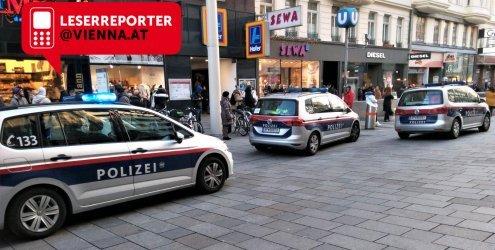 Mann mit Messer sorgt für Polizei-Einsatz in einer MaHü-U3-Station