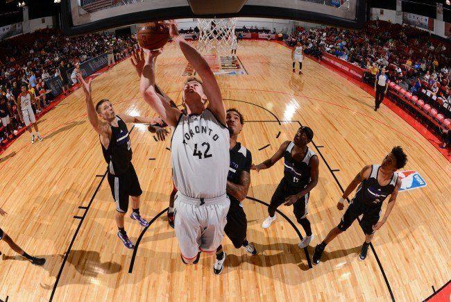 Jakob Pöltl scheint in der NBA angekommen zu sein.