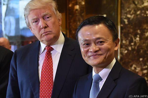 Jack Ma traf Donald Trump