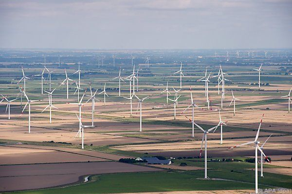 Ausbau der Windenergie wurde etwas gebremst