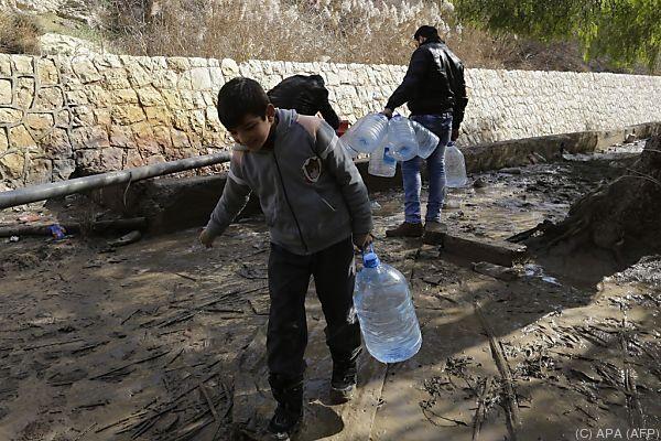 Wasser in Damaskus wurde zum Druckmittel