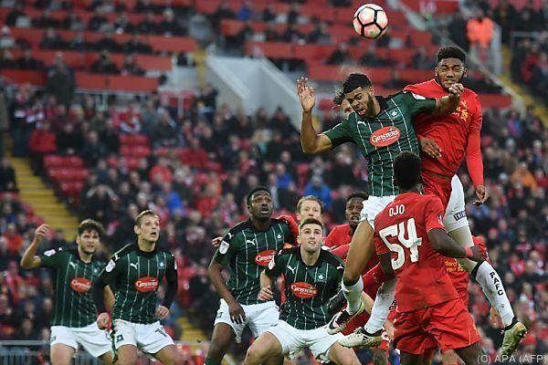 """Liverpool war gegen den """"Underdog"""" mit einer B-Elf angetreten"""