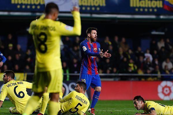 Superstar Messi kann es nicht fassen