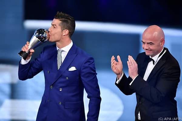 Ronaldo wurde in Zürich geehrt