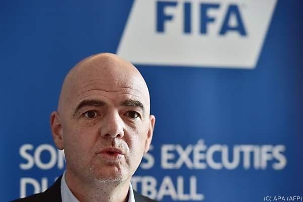 FIFA-Boss Infantino hat sich mit seiner Idee durchgesetzt
